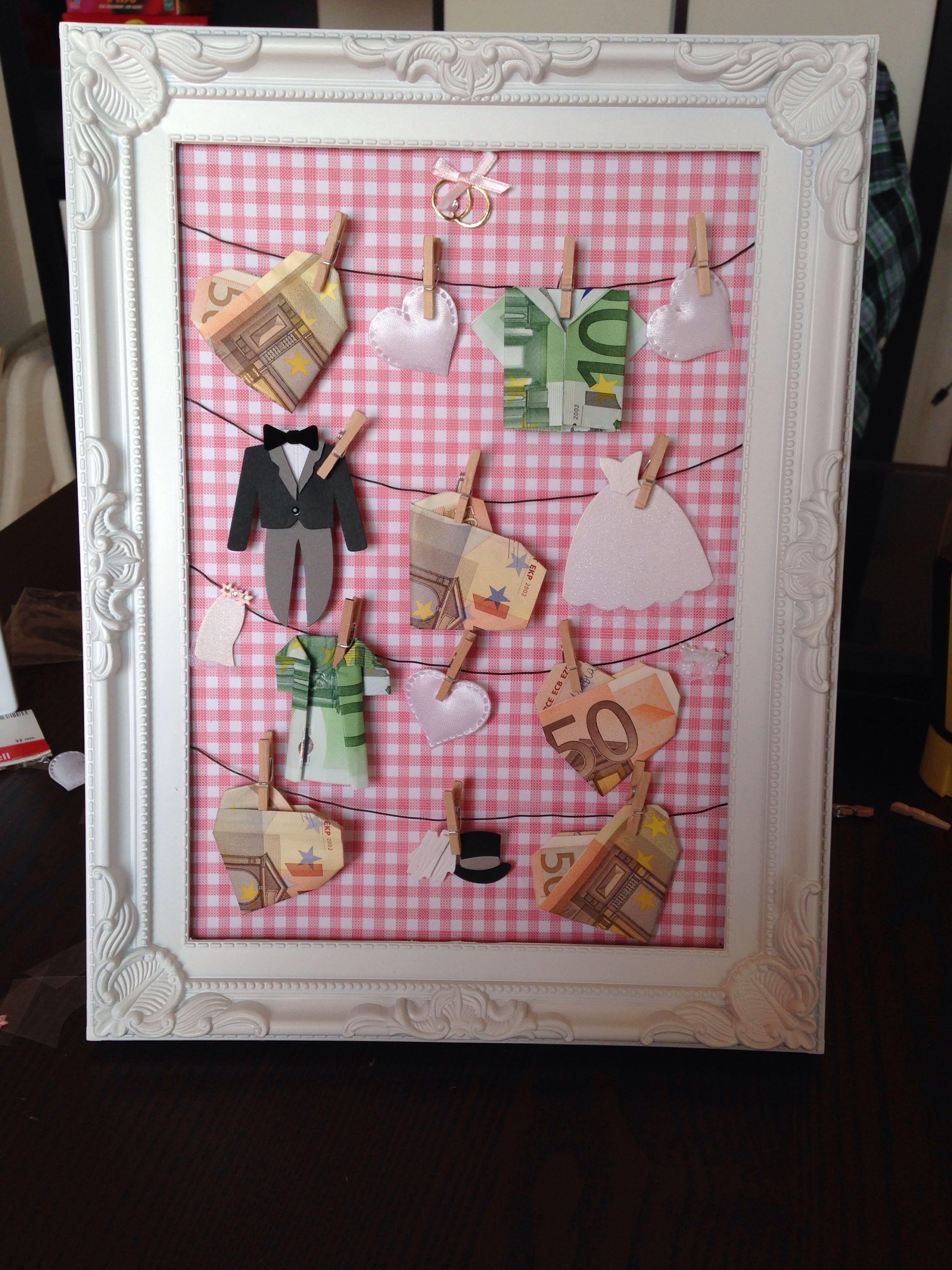 Diy Hochzeitsgeschenk Wedding Pinterest Gift Wedding And Origami