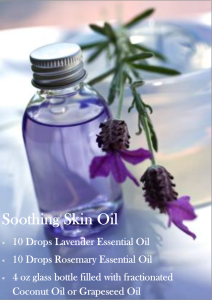 Skin Soothing Oil For Dry Itchy Skin From Change Of Seasons