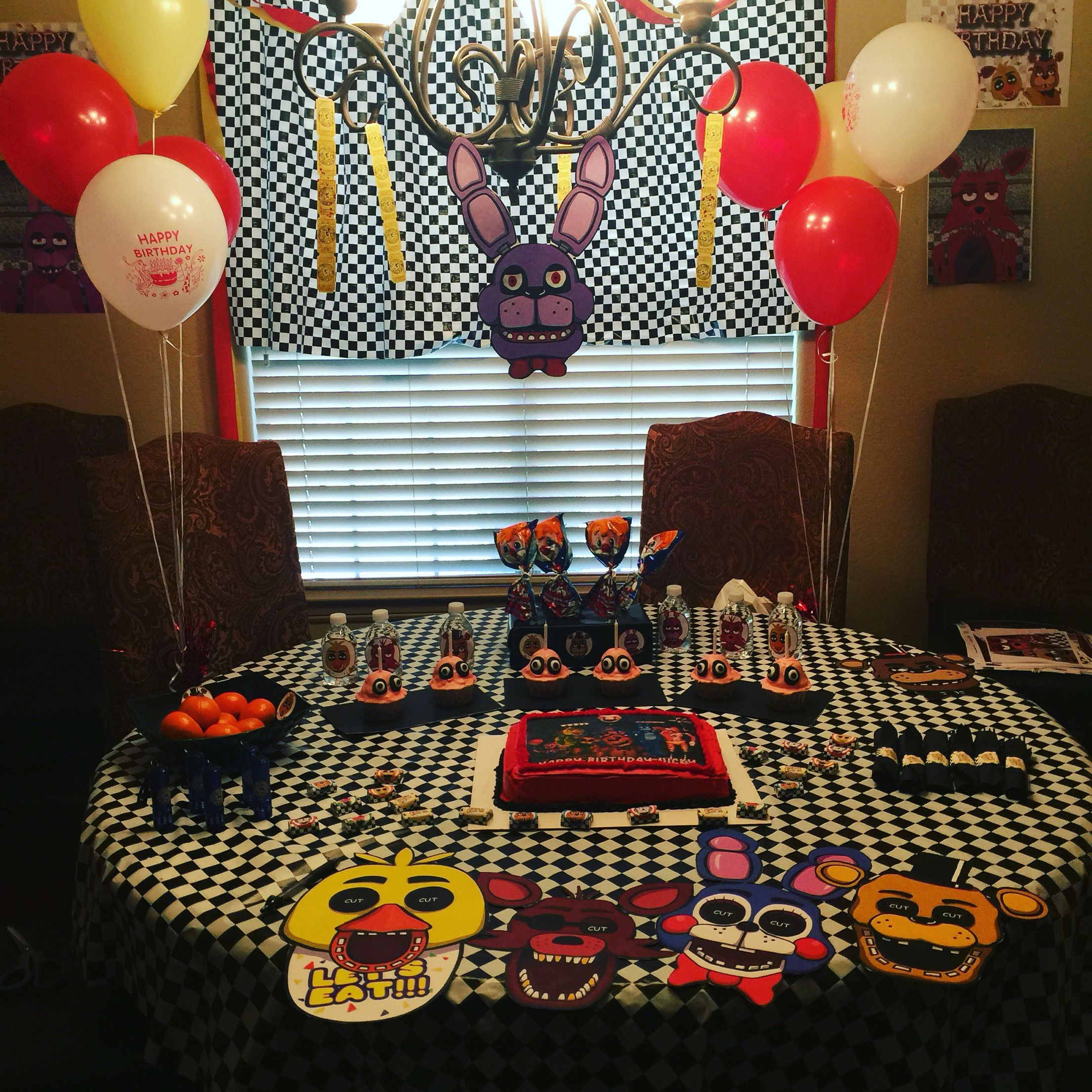 Five Nights At Freddys Birthday Party Five Nights At Freddy S