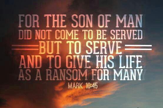 Mark 10:45