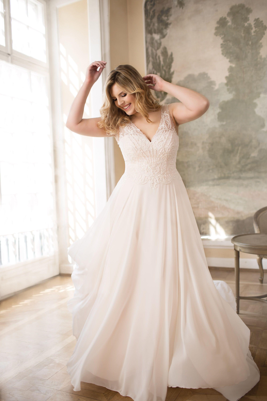 LO-77T   Kleider hochzeit, Brautmode, Hochzeitskleid plus size