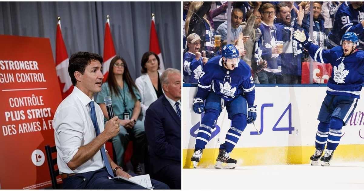Canadians Are Choosing Between The Leaders Debate Hockey Tonight Hockey Vancouver Canucks Leafs Game