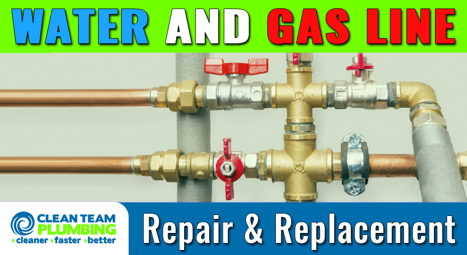 If You Need Any Help With Water And Gas Lines In Houston Tx We Are The Company To Call Contact Us At 832 481 405 Plumbing Repair Plumbing Types Of Plumbing