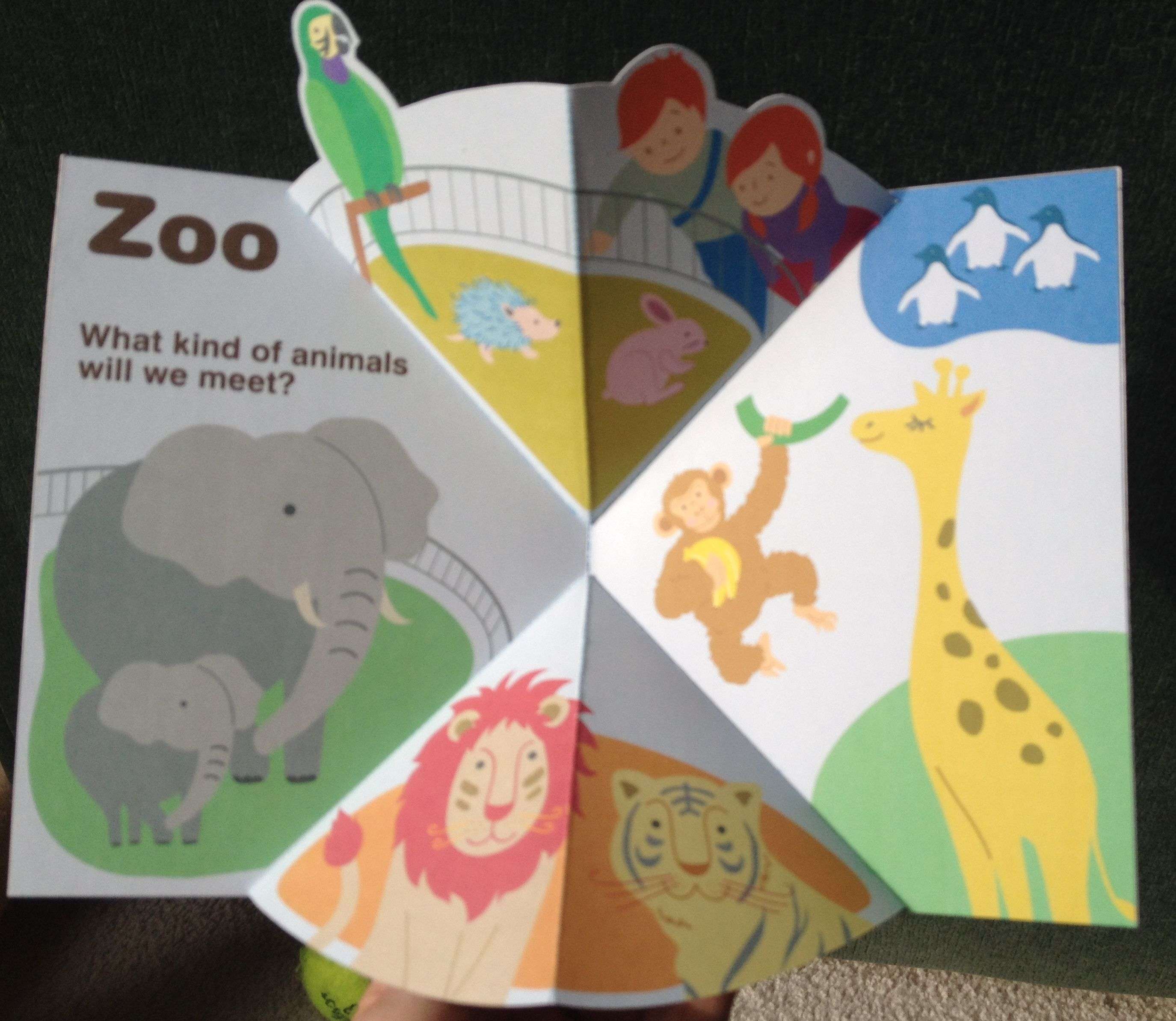Pop Up Zoos : Z is for zoo pop up card template from canon creative