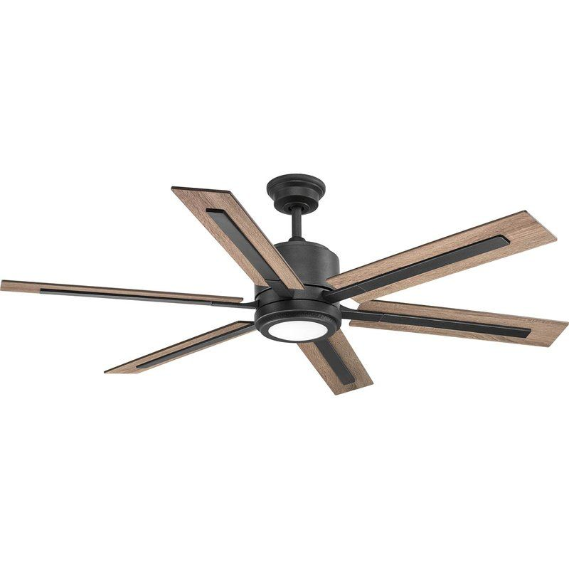 60 Lesure 6 Blade Led Ceiling Fan With Remote Light Kit Included In 2019 Ceiling Fan With Remote Ceiling Fan Progress Lighting