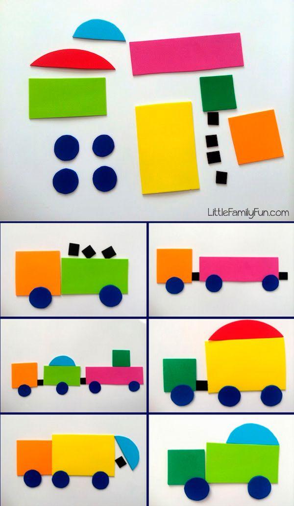 5 manualidades infantiles para aprender las formas   Círculos, Pide ...