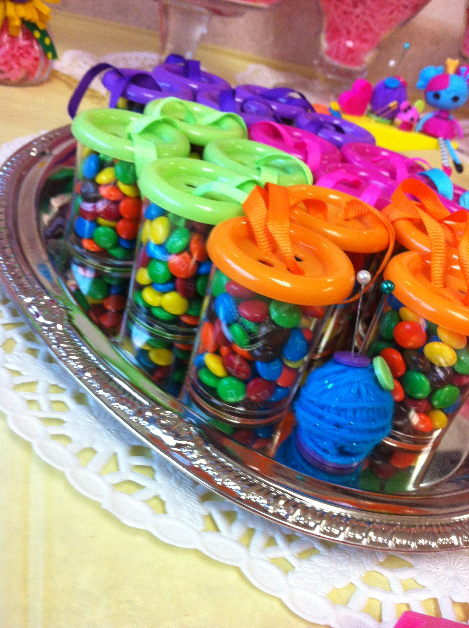 Lalaloopsy Kid Birthday Button Mms Party Favor Candy Bar Decoration Idea