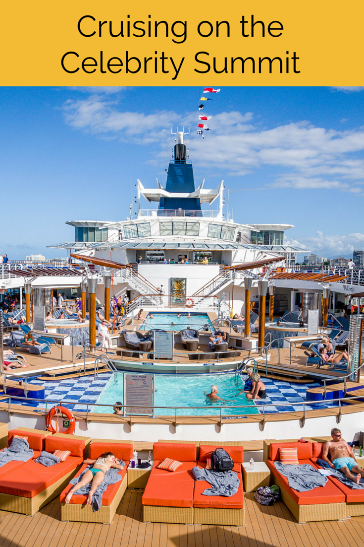 The beach pool on oasis of the seas cruise ship cruise critic - Cruising Paradise A Celebrity Summit Review