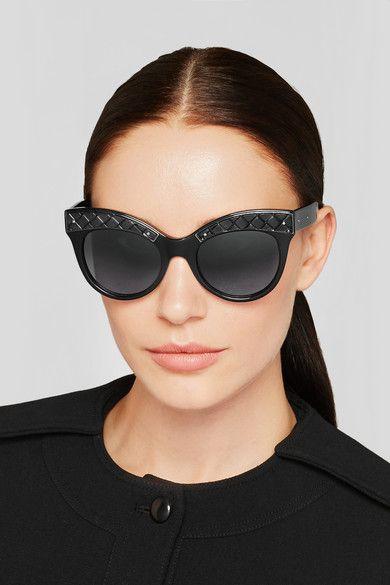 36ecd6fa5 Bottega Veneta | Cat-eye acetate sunglasses | NET-A-PORTER.COM ...