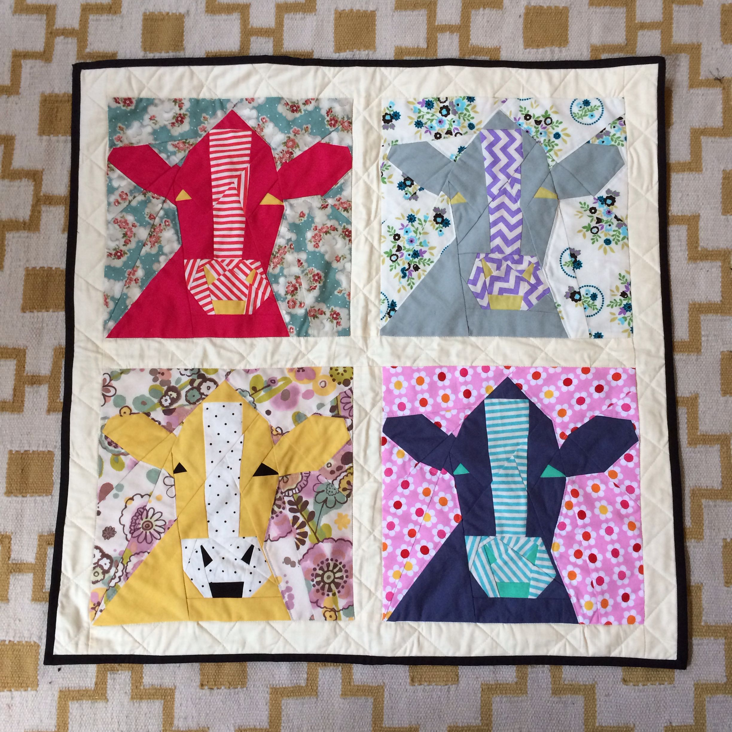 Pin By Aurifil On Quilts We Love Miniature Quilts Quilt