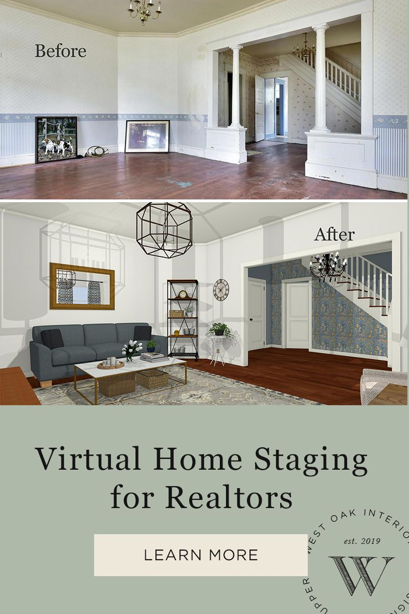 3d Virtual Home Staging For An Old Vacant Home Home Staging Online Interior Design Family Room Design