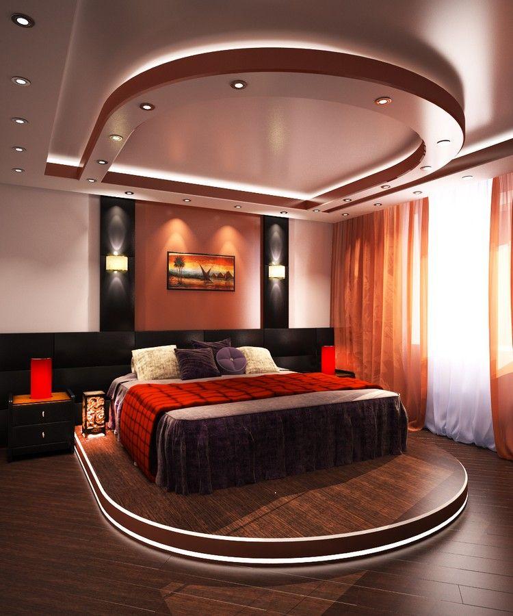dormir la t te au nord faux plafond design avec clairage. Black Bedroom Furniture Sets. Home Design Ideas