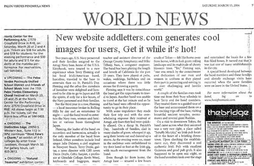 Newspaper Headline Generator | MESSAGEs | Newspaper