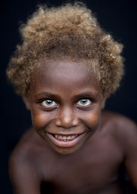 Pin By Yann Sky On Paintings In 2020 Melanesian People Blonde Kids Black And Blonde