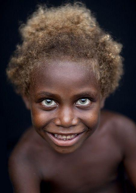 Europeans Had Dark Skin Blue Eyes 7 000 Years Ago According To Melanesian People Blonde Kids Black And Blonde