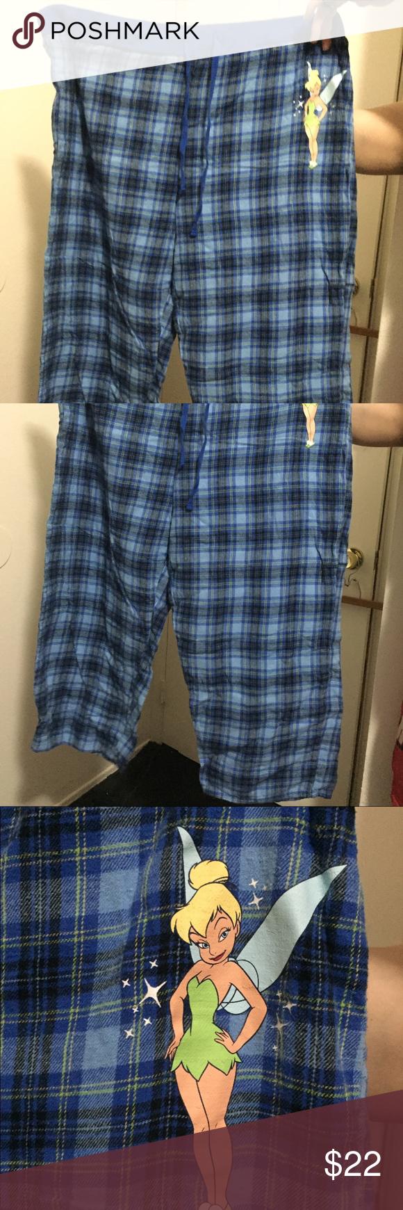 Disney pajama bottoms 2x worn twice very comfy Featuring Tinkerbell Disney Intimates & Sleepwear Pajamas