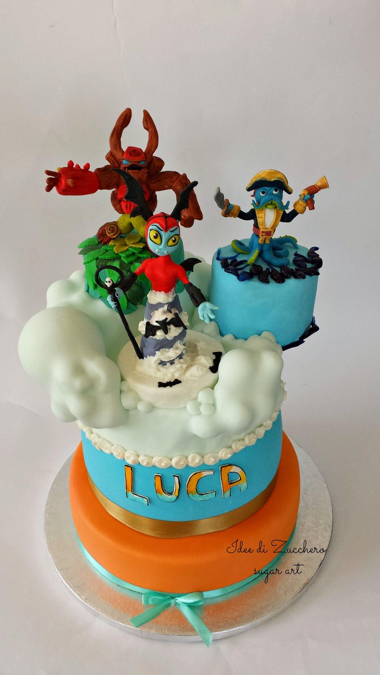 Skylanders Cake Torta Skylanders Birthday Parties Pinterest
