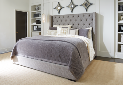 1147 Ashley Sorinella 3 Piece Queen Upholstered Bed