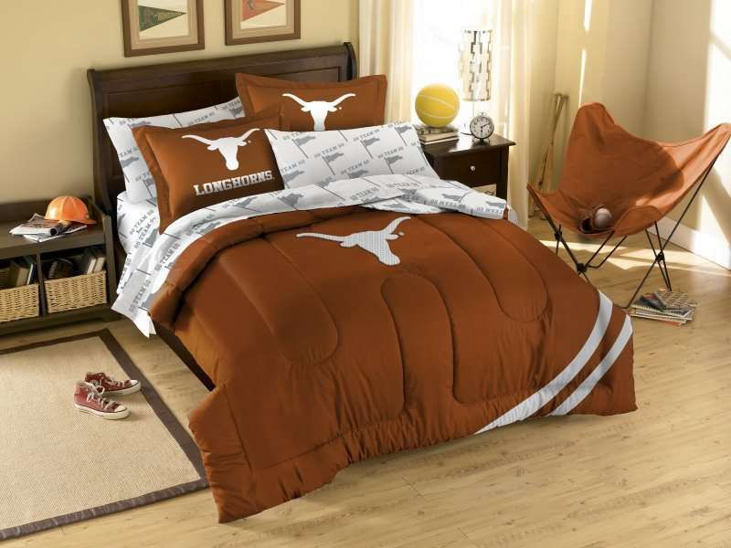 Texas Longhorns Ncaa Comforter Set 99 90