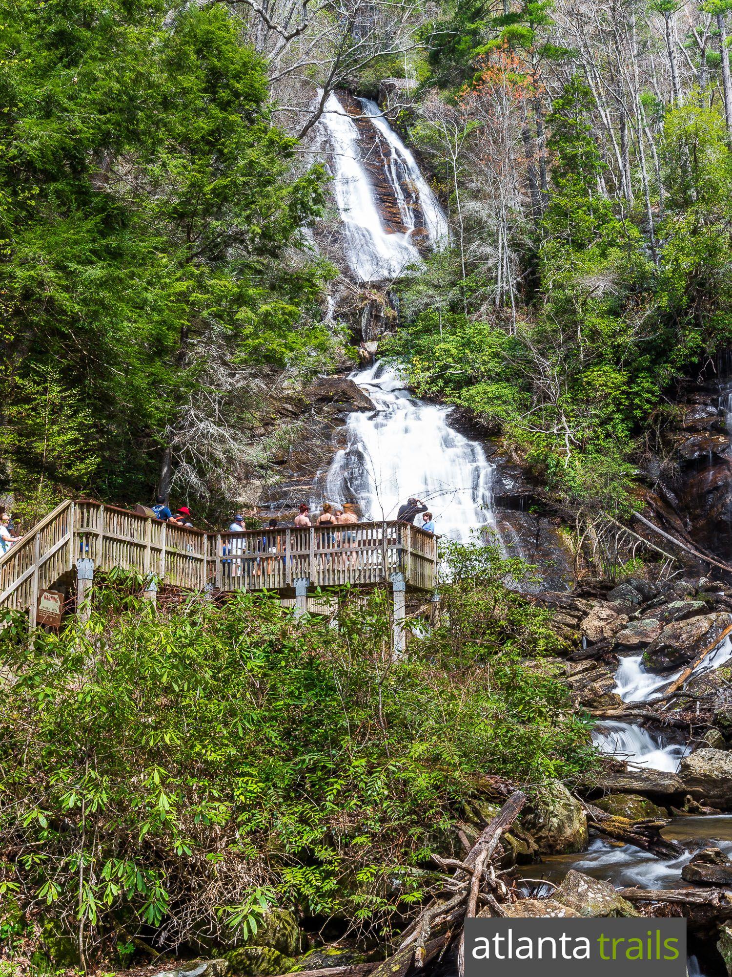 Anna Ruby Falls Atlanta Trails Hiking In Georgia Waterfall Hikes Camping In Georgia