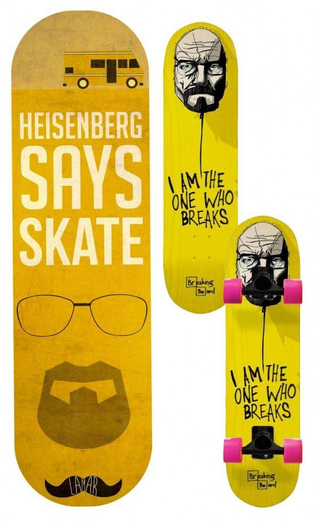 Skate breaking bad #walter