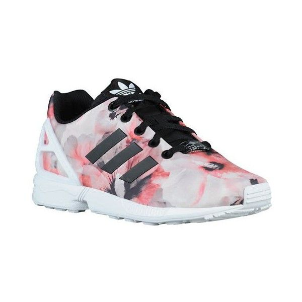 adidas Originals ZX Flux Girls' Grade School ($63) ❤ liked on Polyvore  featuring