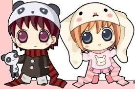 Parejas Anime Chibi Buscar Con Google Chibi Anime