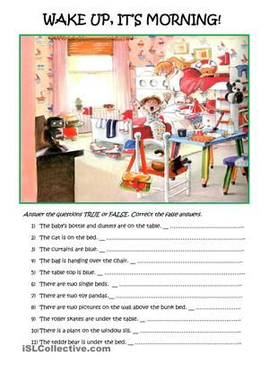 Simple Reading Comprehension With A Picture Reading Comprehension Reading Comprehension Worksheets Reading Comprehension Lessons Year english worksheets tes