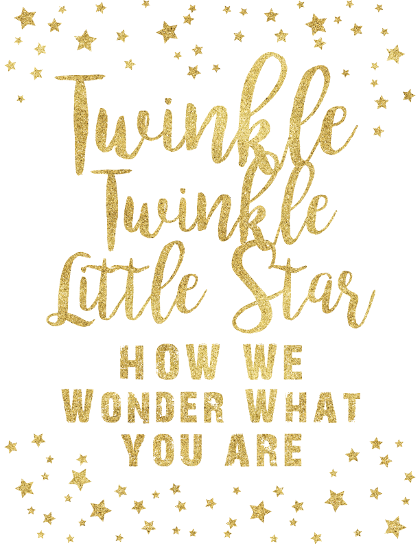 Twinkle Twinkle Little Star Theme Printable Posters In 2020 Twinkle Twinkle Gender Reveal Star Baby Shower Invitations Star Baby Showers