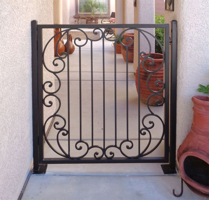Single Gates Artistic Iron Works Ornamental Wrought Specialists