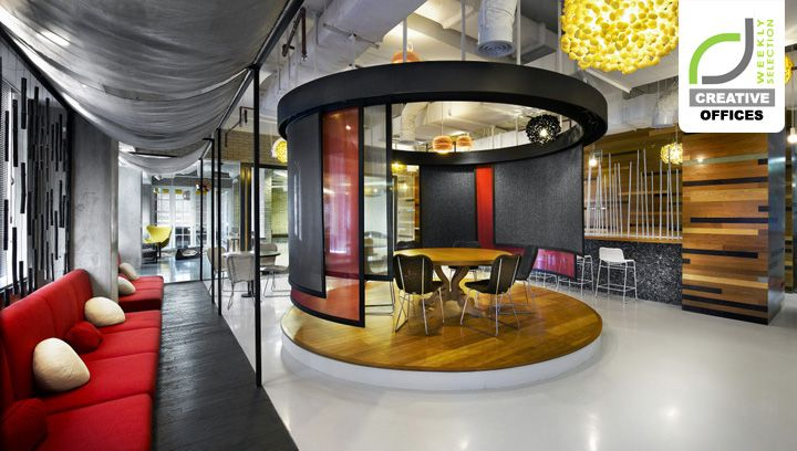 ogilvy mather offices and jakarta on pinterest cool office space idea funky
