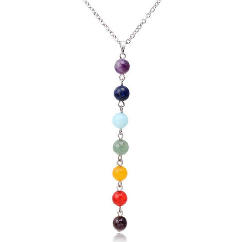 a9e5f9382f07 Gorgeous 7 Chakra Gem Stone Beads Necklace for Women – The Real Nomad  www.therealnomad.com