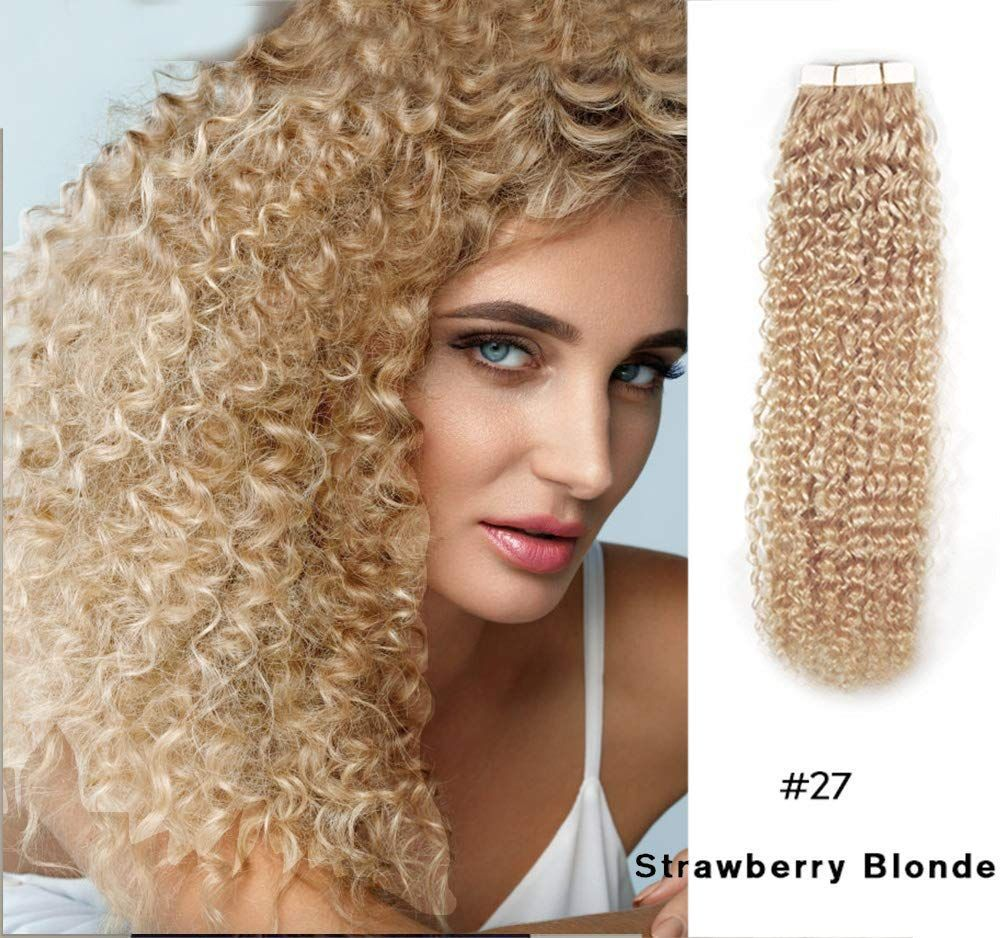 Make Your Hair Glamorous Instantly With Strawberry Blonde Tape In