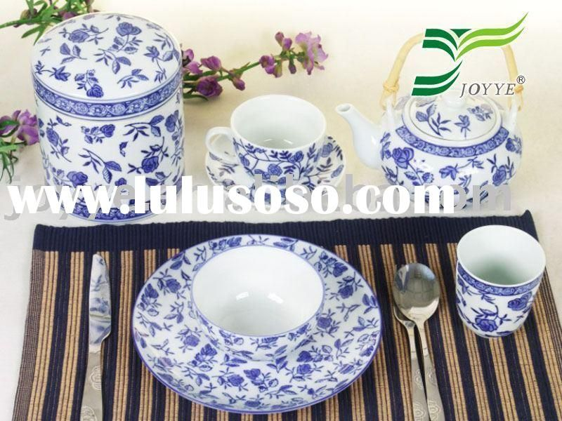 Chinese Blue White Porcelain Tableware Set Tableware Set Porcelain Tableware Tableware Design