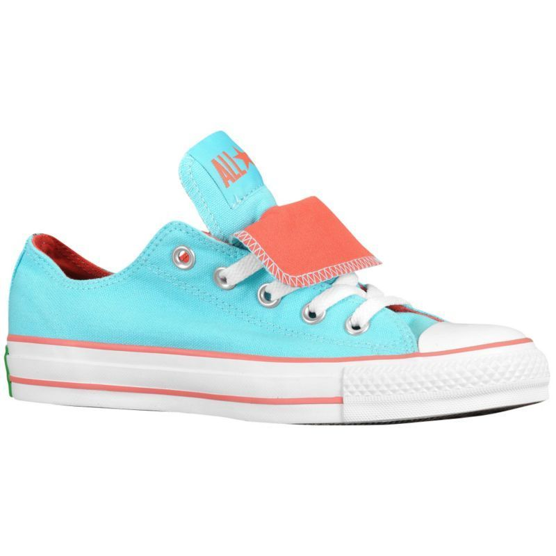 15c2aa92bff4 Tiffany blue   coral converse... yes please! More