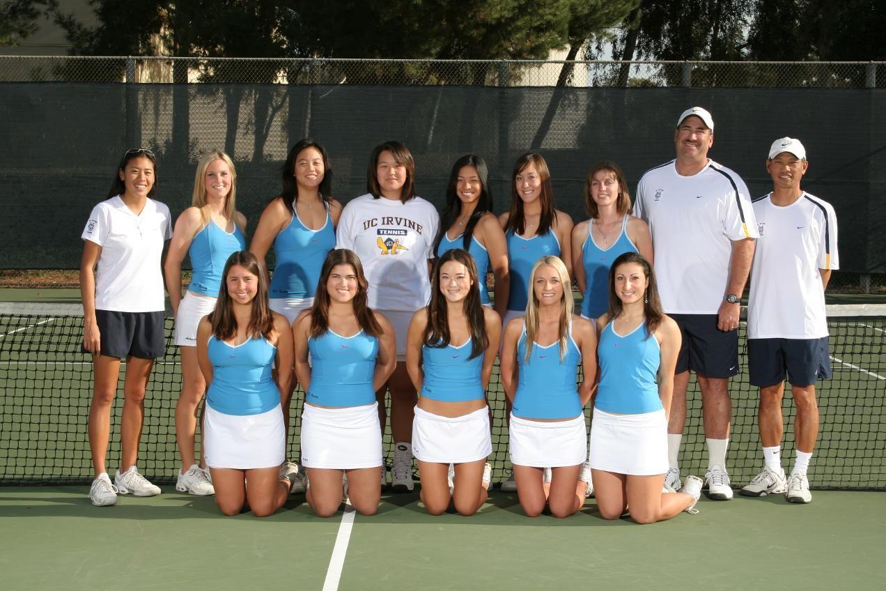 Uci S 2006 07 Team Won The Big West Regular Season Title 1st Team In Uci History To Make The Ncaa Tournament 32 Uci Ncaa Tournament Womens Tennis Irvine