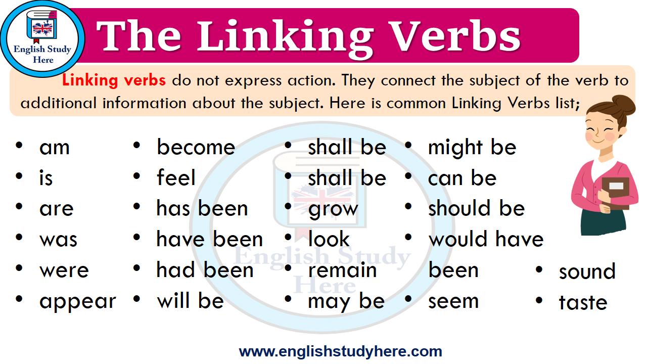 Https Englishstudyhere Com Verbs The Linking Verbs Linking Verbs English Study Learn English Vocabulary [ 720 x 1280 Pixel ]