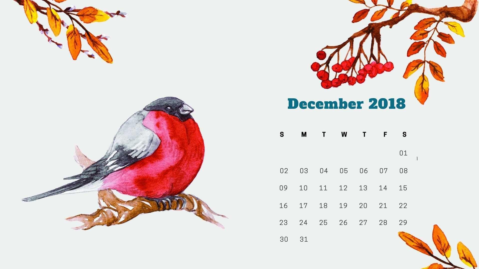 December Laptop Calendar 2019 Wallpaper Lovely December 2018 Calendar Wallpaper for Desktop | Calendar