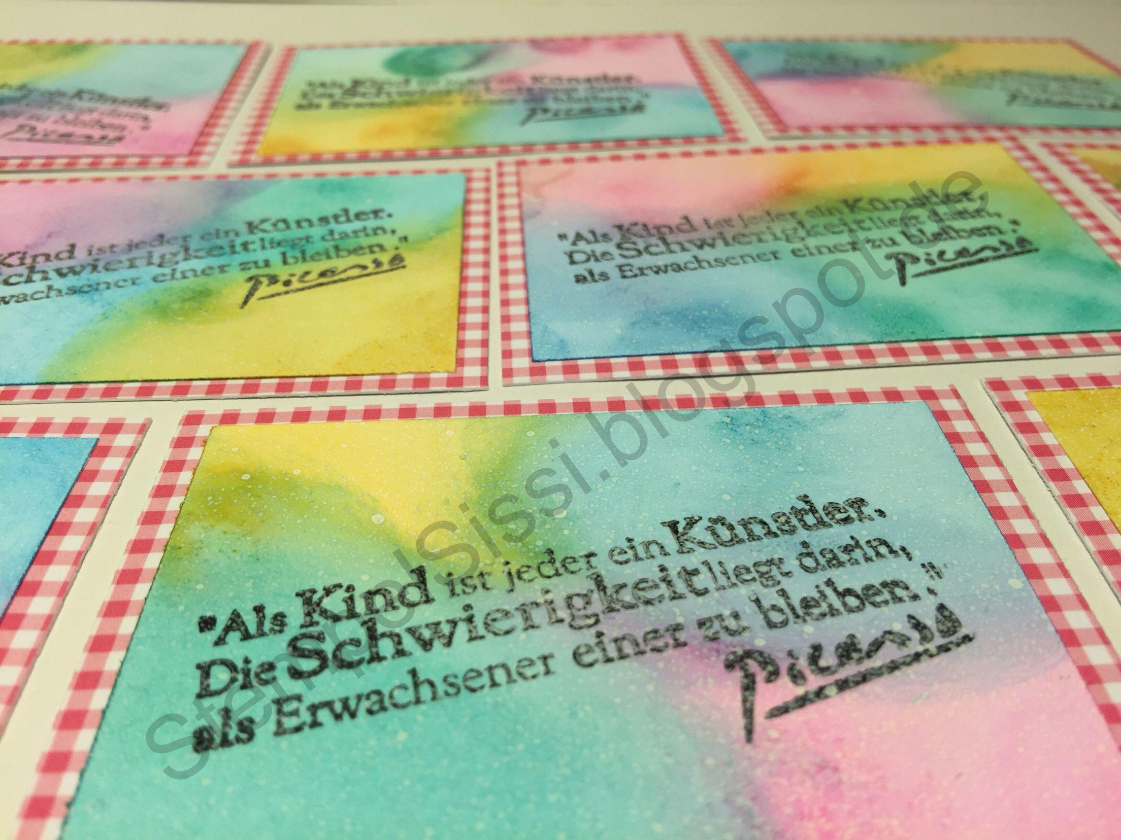 ATC Zukunft #ATC Future Artist trading cards #StempelSissi #Sissi_s_kreatives_Kämmerlein