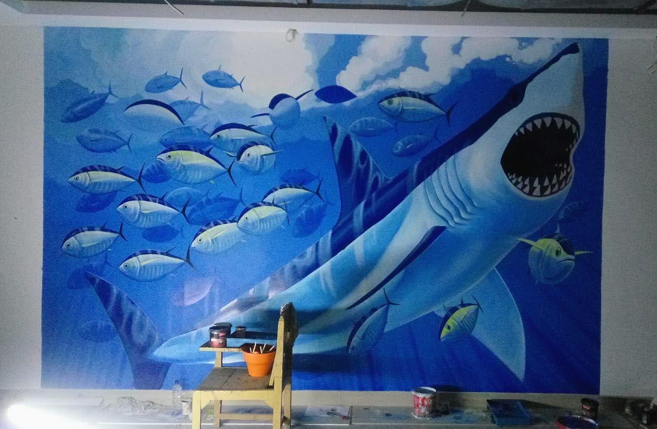 Ide Mural Bali di 2020 Mural, Painting, Seniman