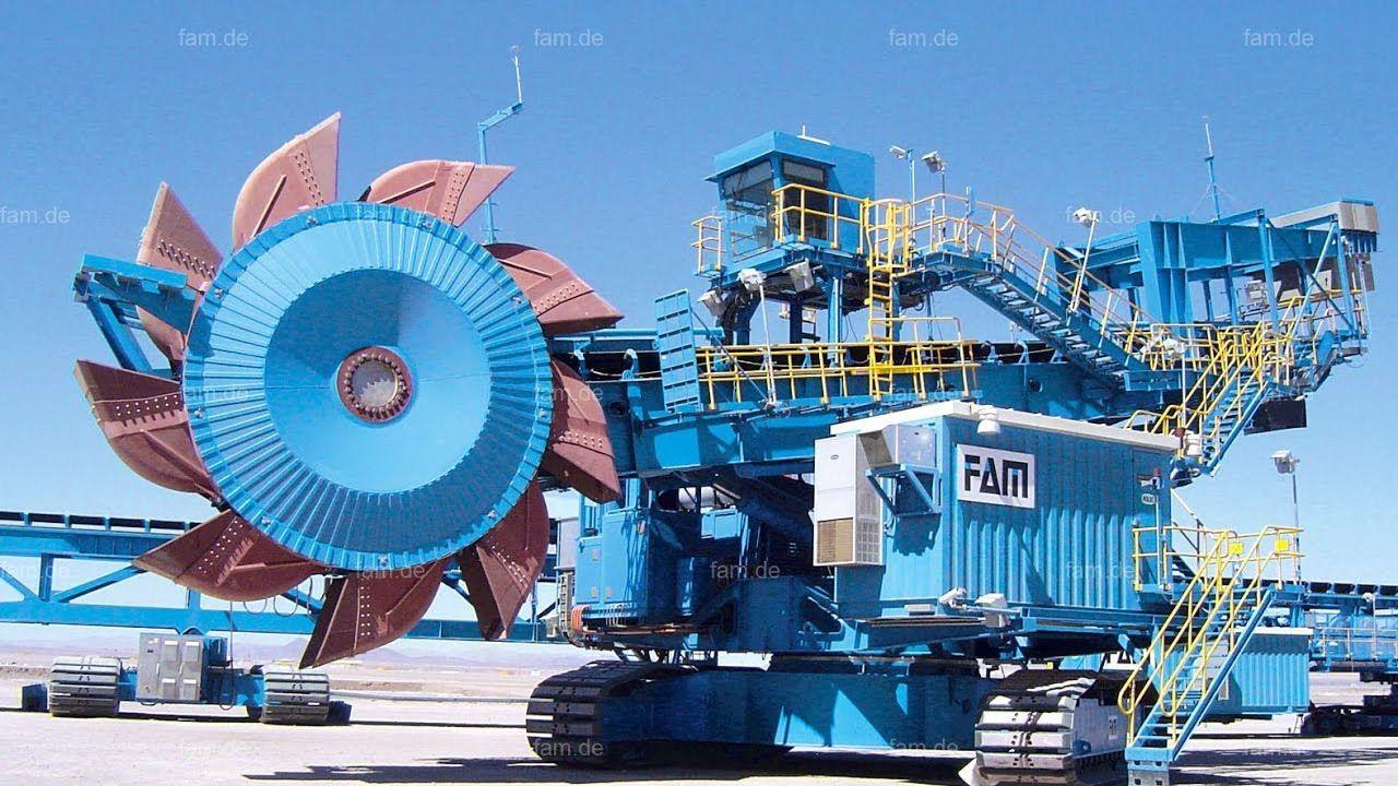 Amazing Construction Video Biggest Mega Machine Bucket Wheel