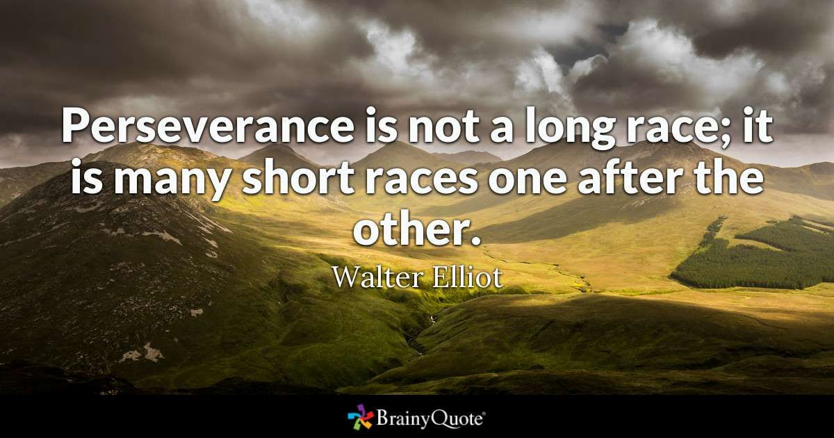 Walter Elliot Quotes Perseverance Quotes Khalil Gibran Quotes Motivational Quotes