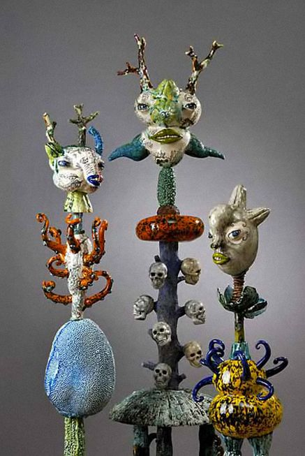 Jenny Orchard-ceramic-art | ceramic sculpture - whimsical ...