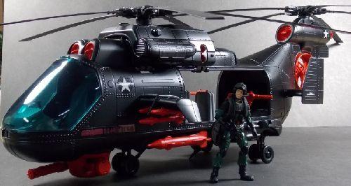 3D Printed Cobra Fang Engine Cover GI Joe Custom Part For Vintage Helicopter