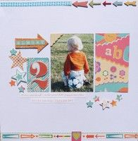 #papercraft #scrapbook #layout A Project by auntieklm from our Scrapbooking Gallery originally submitted 08/12/13 at 03:54 PM