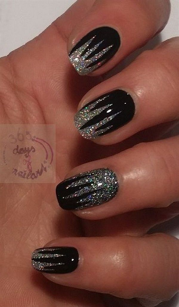 60 New Metallic Nail Art Design Trends Nail Design Art