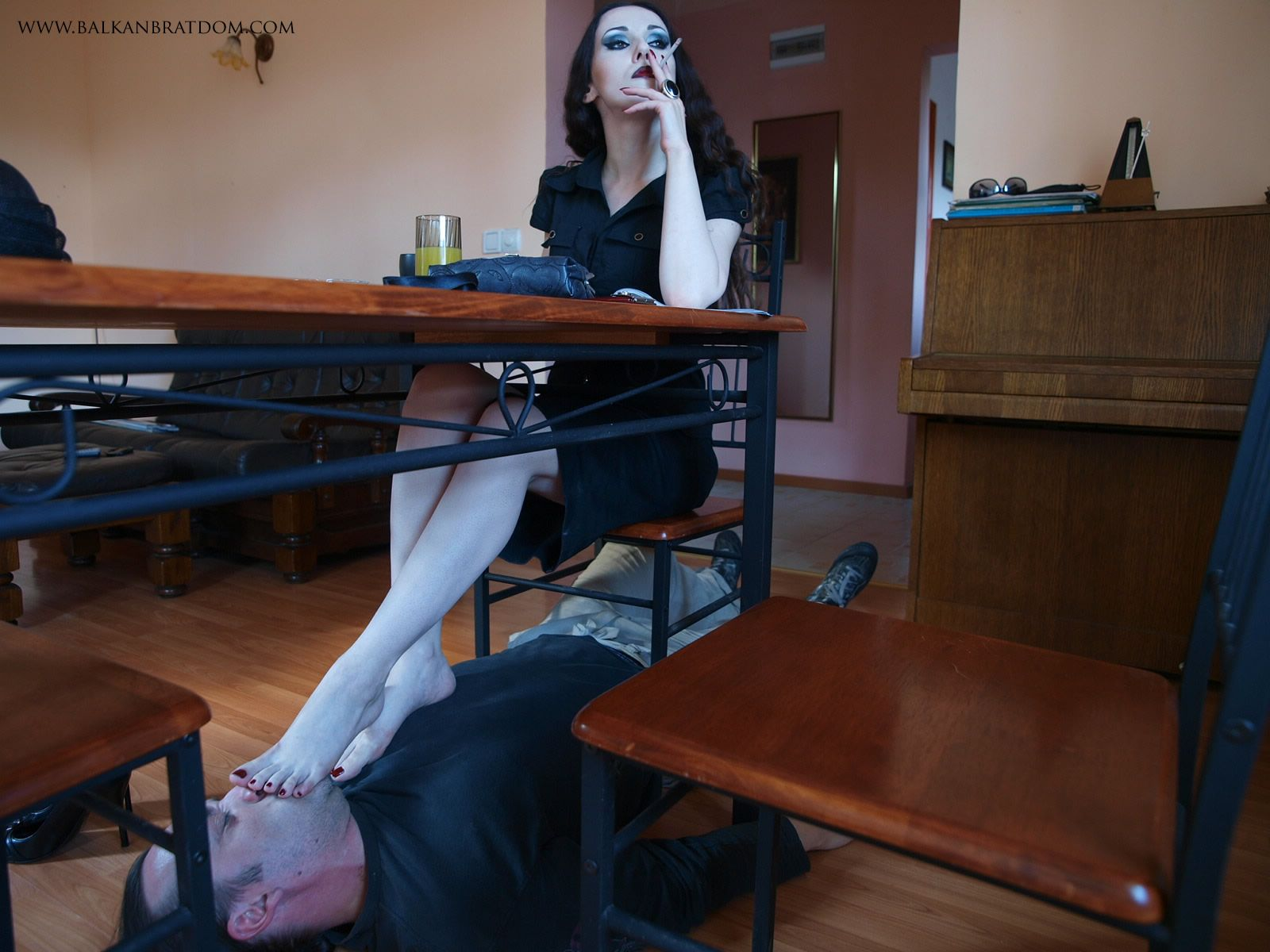 And I Want  Female Footdomination  Pinterest  Female Supremacy, Women Smoking And Latex-7722