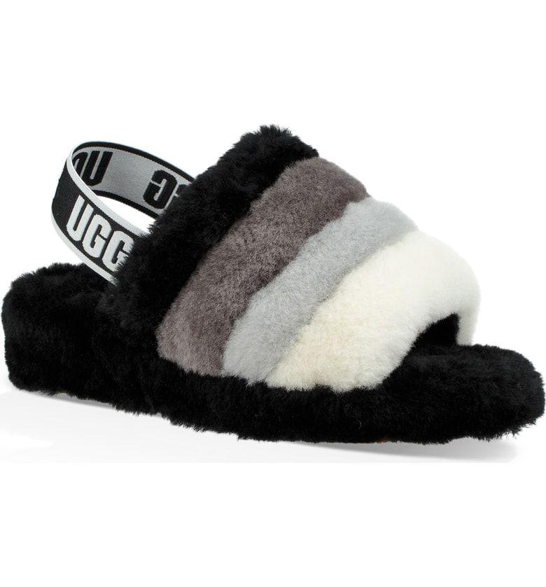 Ugg Fluff Yeah Genuine Shearling Slingback Sandal Women Nordstrom Ugg Slippers Uggs Womens Uggs