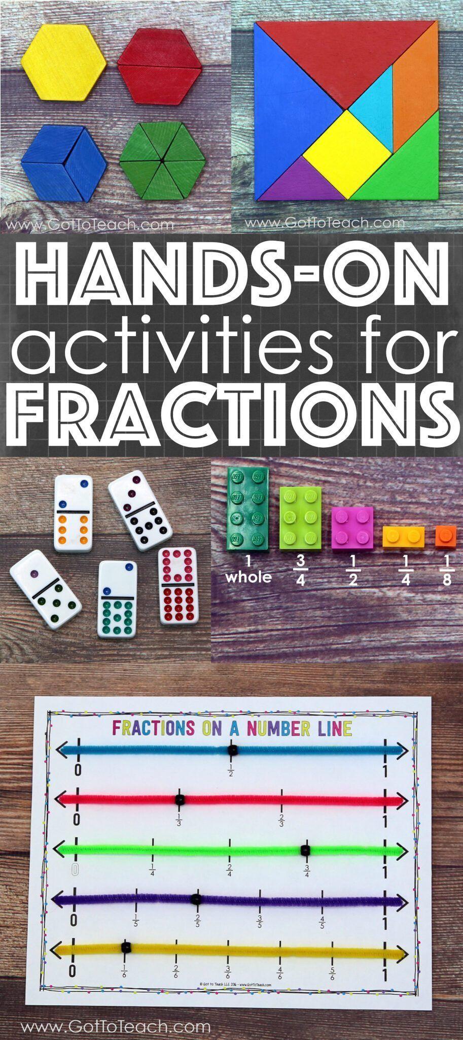 Hands On Activities For Teaching Fractions Teacher Thrive Teaching Fractions Math Fractions Teaching Math [ 2048 x 913 Pixel ]