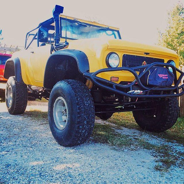 Ih Gear On Instagram Tyler International Monster Brings Us This 4x4 Internationalscout Beast Turbodiesel International Scout Classic Truck Truck Yeah